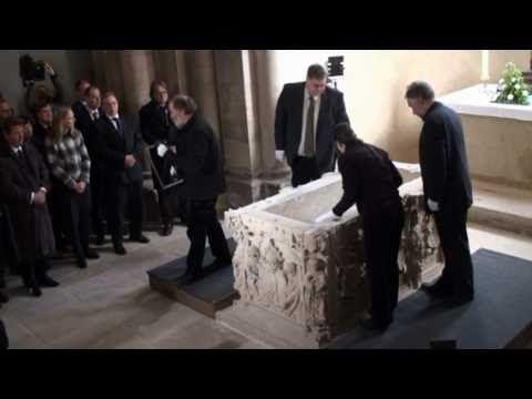 Wiederbeisetzung Königin Editha, Frau von König Otto im Magdeburger Dom