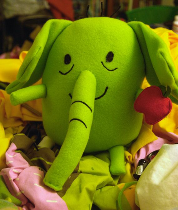 Tree Trunks Adventure time Plush toy by sappymoosetree on Etsy, $35.00