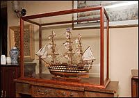 Ship Model Display Cases - Order Your Display Cases & Cabinets