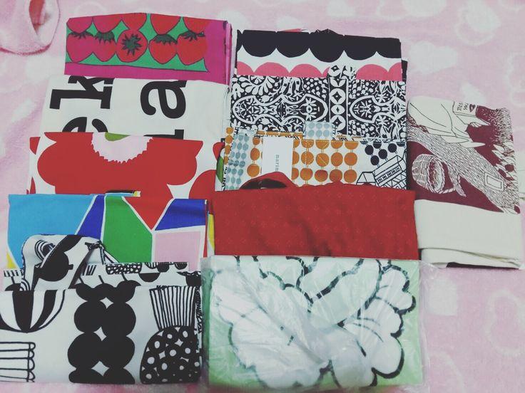 My totebag moomi&marimekko totebag  collection