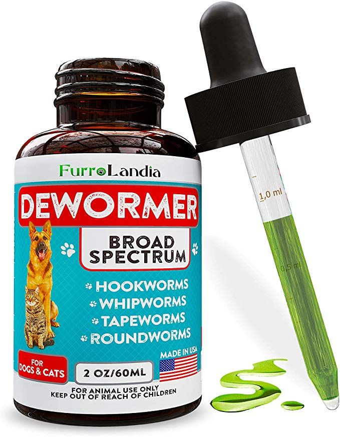 8 In 1 Dewormer For Dogs Cats Kills Prevent Tapeworms Roundworms Hookworms Whipworms Natural Broad Spectrum F Cat Dewormer Cats