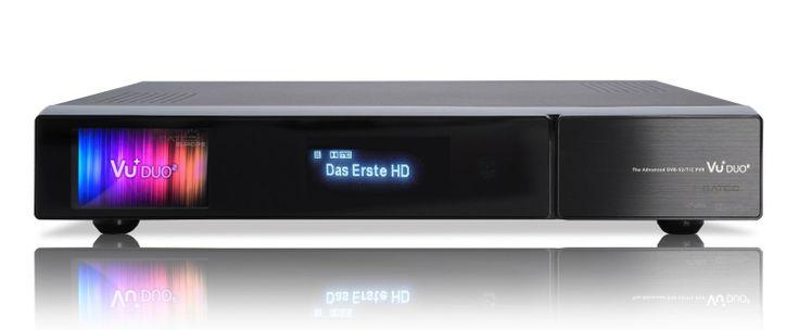 VU+® Duo² 1x DVB-S2 Dual Tuner Full HD 1080p Twin Linux Receiver 3TB HDD: Amazon.de: Heimkino, TV & Video