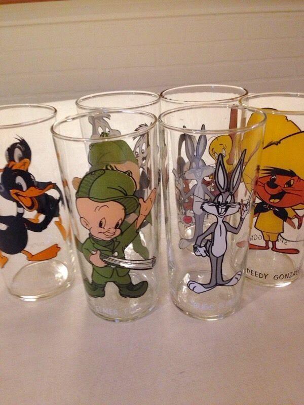 Warner Bros. Collectible Vintage Glassware