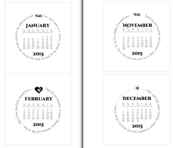 141 best Desk Calendars images on Pinterest   Desk calendars ...
