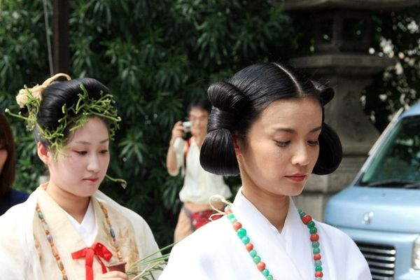 Японские прически для девушек