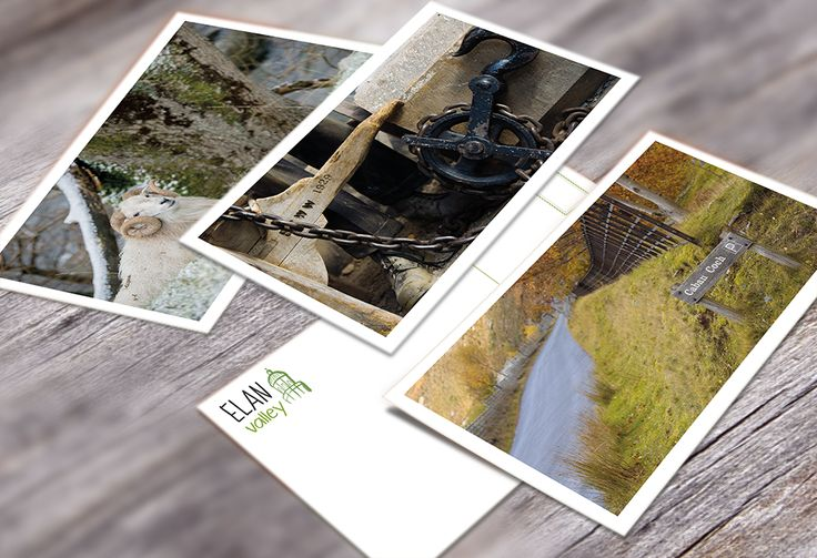 #Postcard #Photography for Elan Valley by Orphans Press www.elanvalley.org.uk