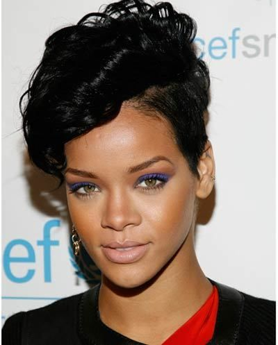 Groovy 1000 Images About Rihanna39S Short Hairstyles On Pinterest Short Hairstyles Gunalazisus