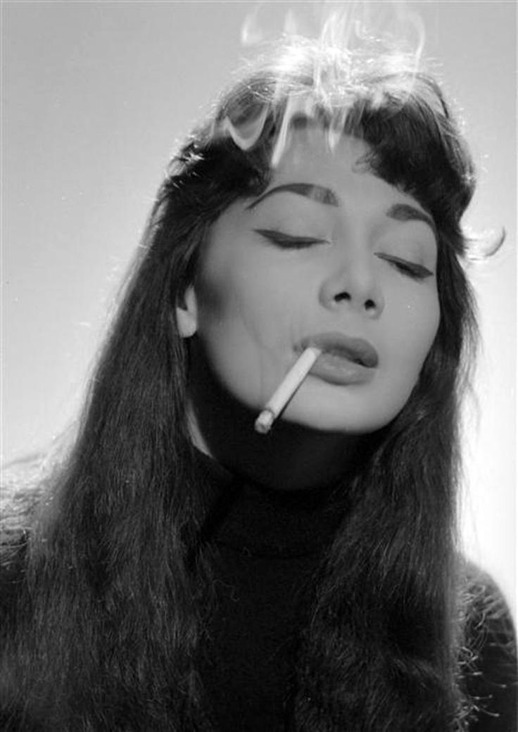Juliette Gréco by Jerry Schatzberg