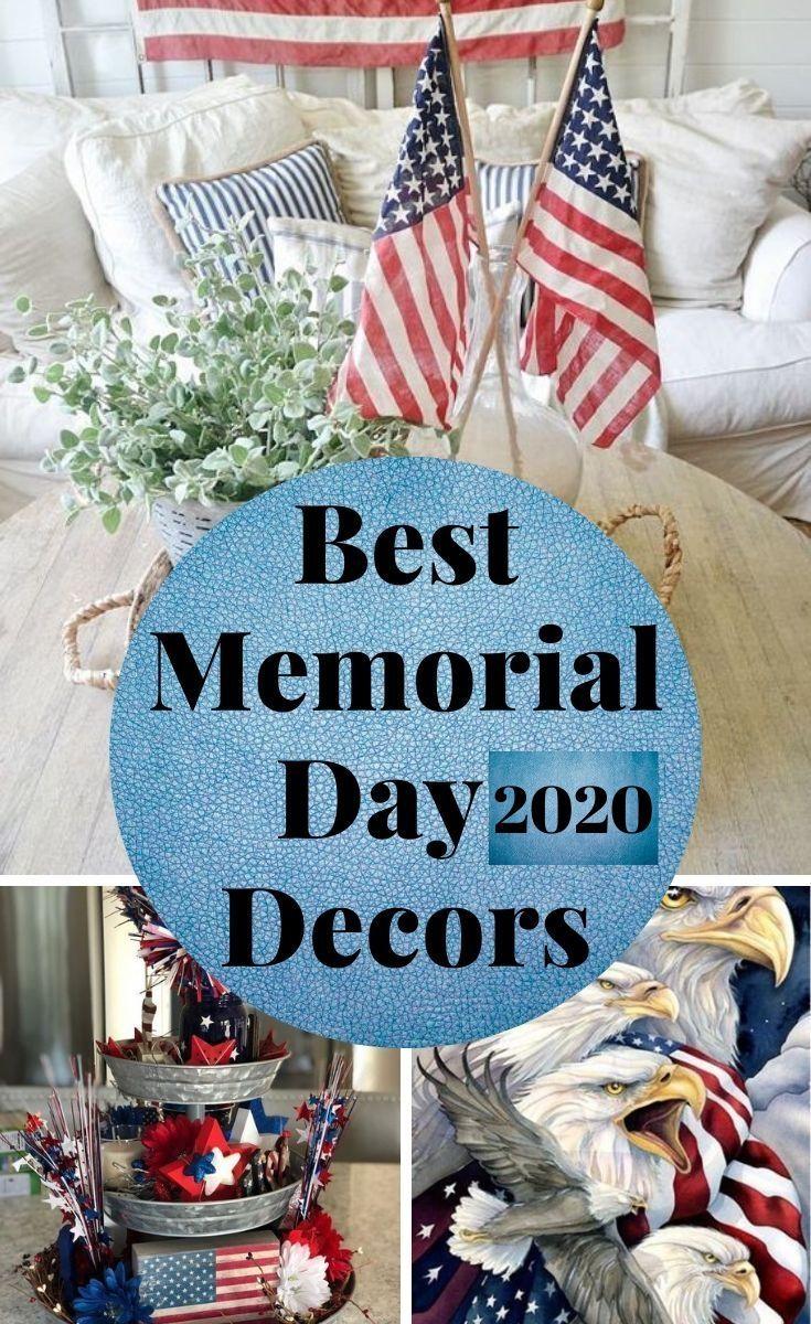 Best Memorial Day 2020 Decors Flag Decor Diy Flag Decor Decor