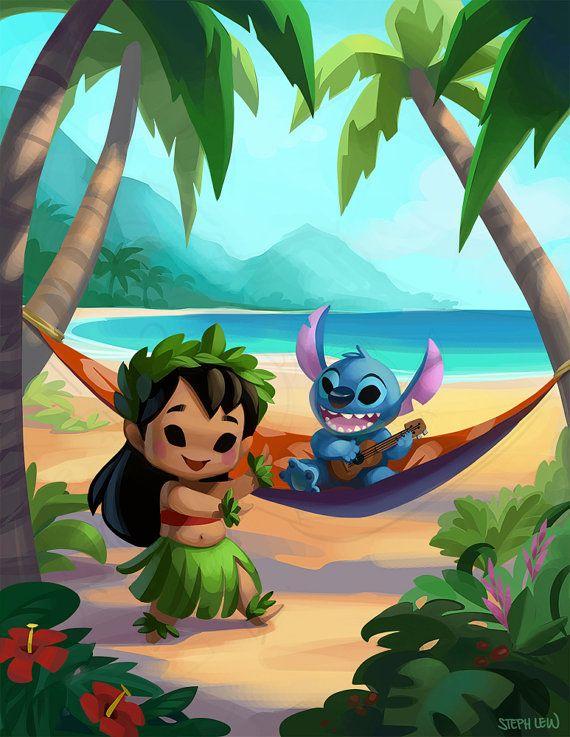Hawaii Cuties by StephLewArt on Etsy