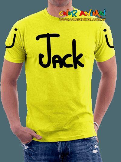 JackÜ Logo Remeras Color Animal - Color Animal