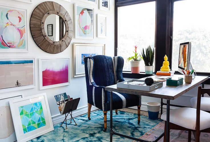 9 Ideas to Steal from Whitney Port's Office Makeover