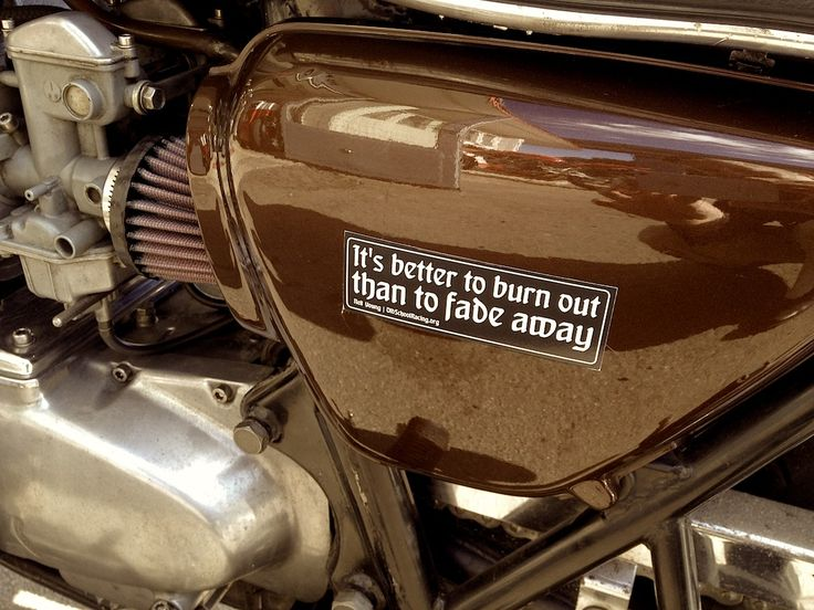 $4.99 OSR burn-out quote stickerset