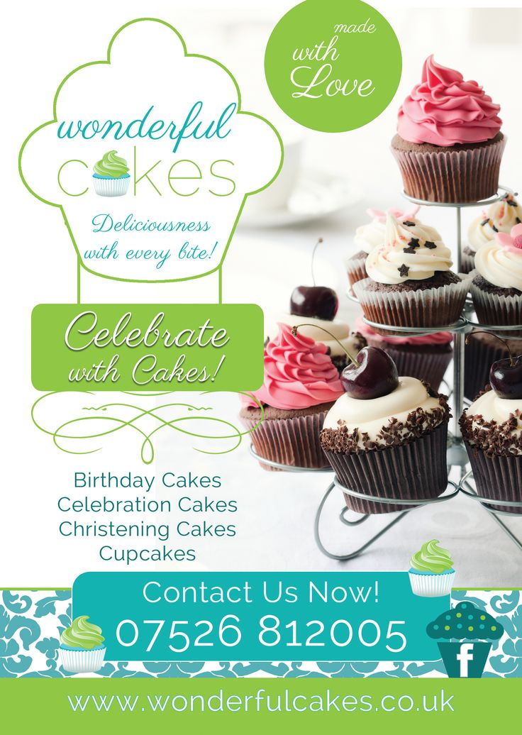 Free Cake Decorating Flyer Templates