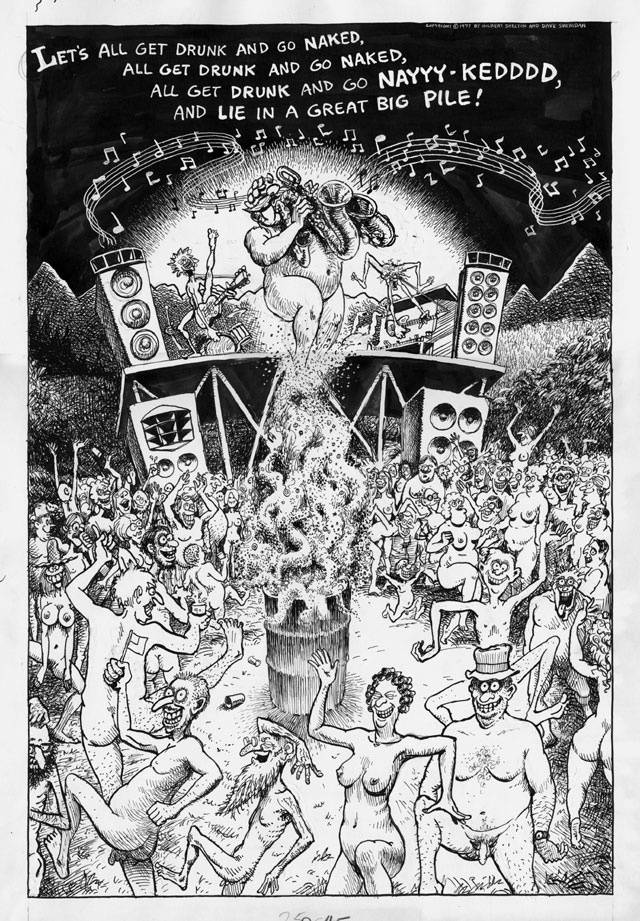 GILBERT SHELTON & DAVE SHERIDAN: The Fabulous Furry Freak Brothers #5