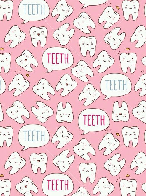 Image via We Heart It https://weheartit.com/entry/134725227/via/27154000 #cute #teeth #tooth #wallpaper