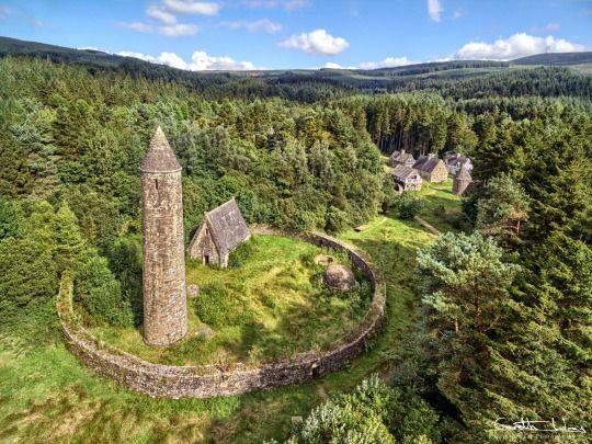 """Hidden but never forgotten""  Ulster History Park, Gortin, County Tyrone, Northern Ireland   Gareth Wray Photography"
