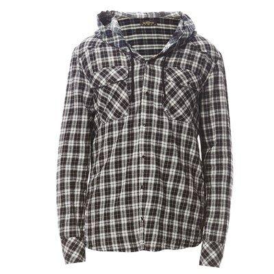 Prezzi e Sconti: #Meltin pot claudy camicia con cappuccio - Uomo  ad Euro 99.00 in #Camicie a maniche lunghe casual #Camicie