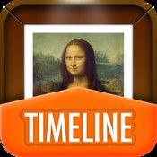 Art history timeline App for iPad. So cool.