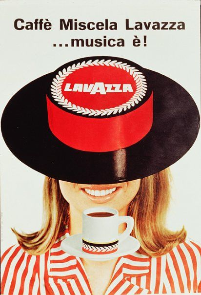Vintage posters for Italian coffee brand Lavazza. ViaBlog Mundo del Café.