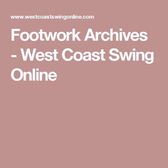 Footwork Archives - West Coast Swing Online