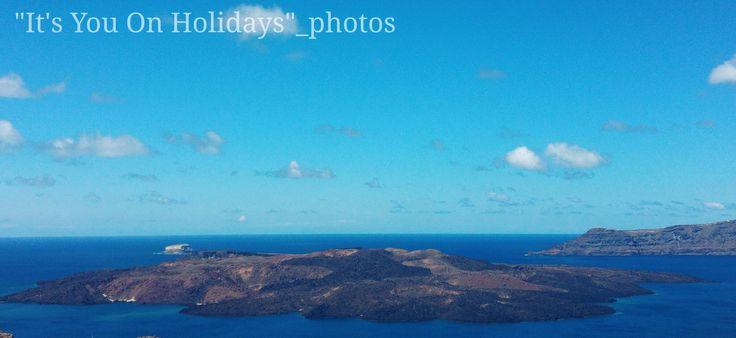 Nea kameni-volcanic Islands-Santorini