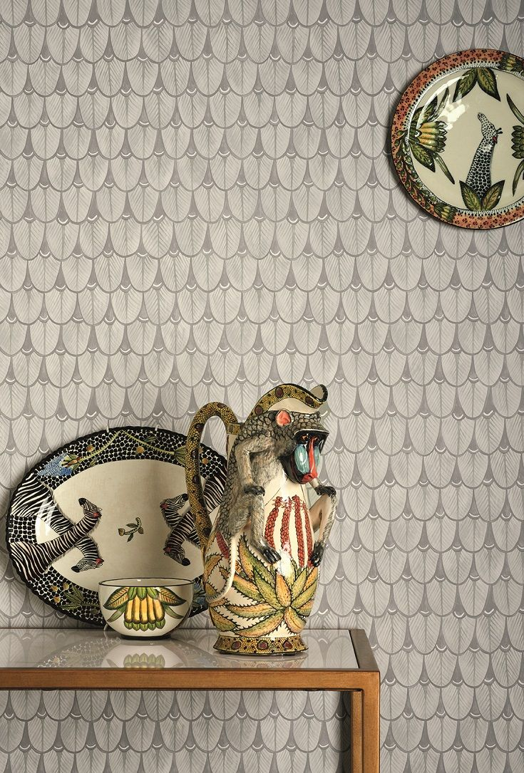 Nalina wallpaper design by Cole and Sons.