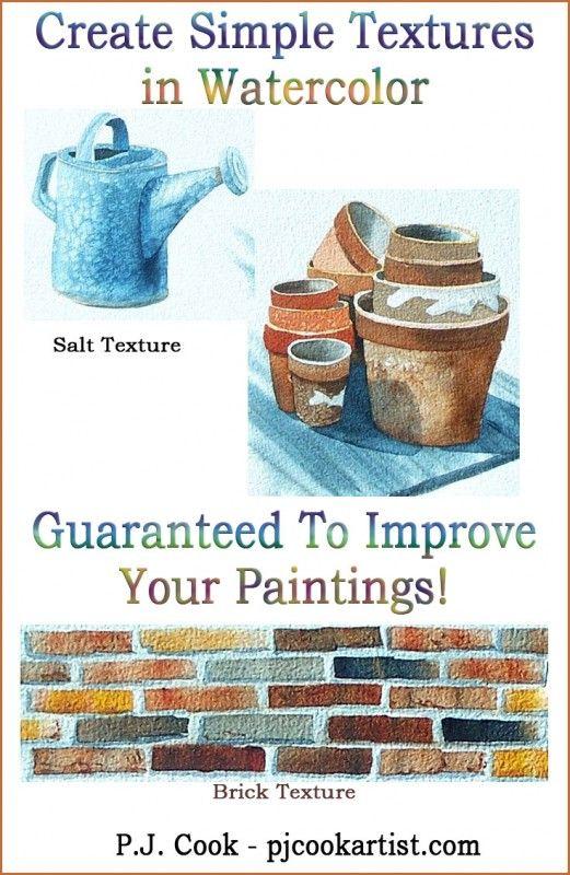 496 best Watercolor Techniques images on Pinterest