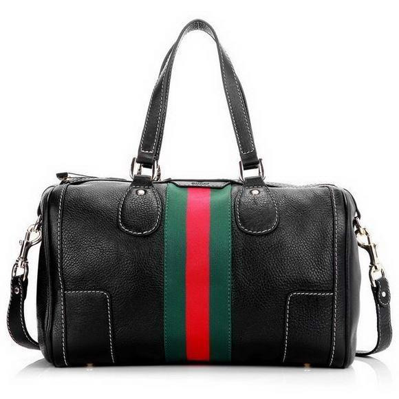 Gucci Seventies Medium Boston Bag 271623 Black [dl9841] - $260.89 : Gucci Outlet, Cheap Gucci online,Gucci UK