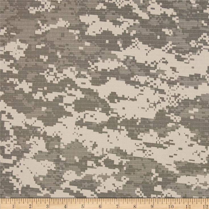 Cotton Ripstop Army Combat Uniform from @fabricdotcom  This GOTS certified organic ripstop fabric is medium weight and perfect to use for sporting apparel like jackets, shorts and pants or utility bags.