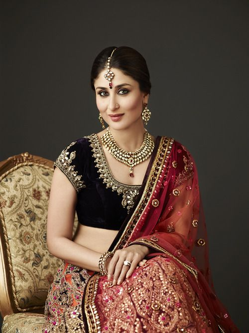Kareena Kapoor. I want her clothes. I would not look like her in them. But I still want them :-)