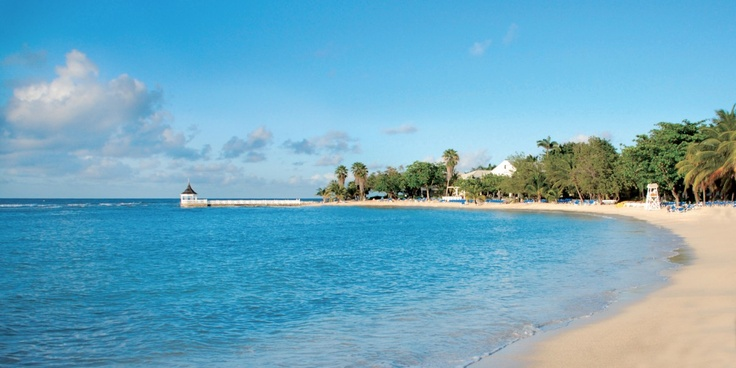 Near Montego Bay in Jamaica, the 400-acre Half Moon fronts a long sweep of sand. #Jetsetter