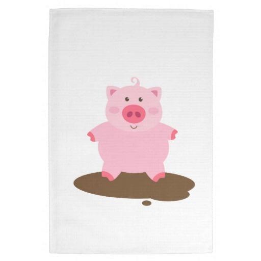 Muddy Pig Kitchen Towels