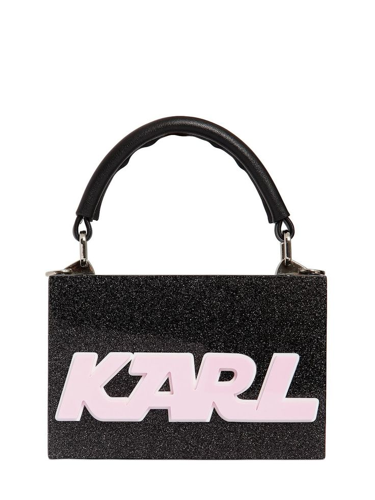 KARL LAGERFELD . #karllagerfeld #bags #shoulder bags #clutch #leather #glitter #hand bags #