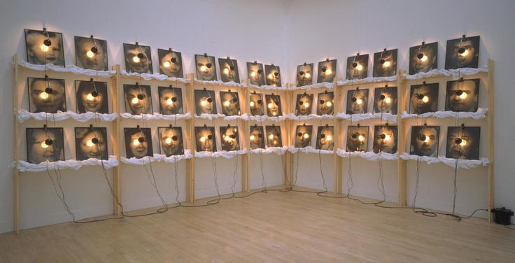 Christian Boltanski 'The Reserve of Dead Swiss', 1990