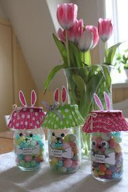conigli da vasetto di vetro - bunny jar