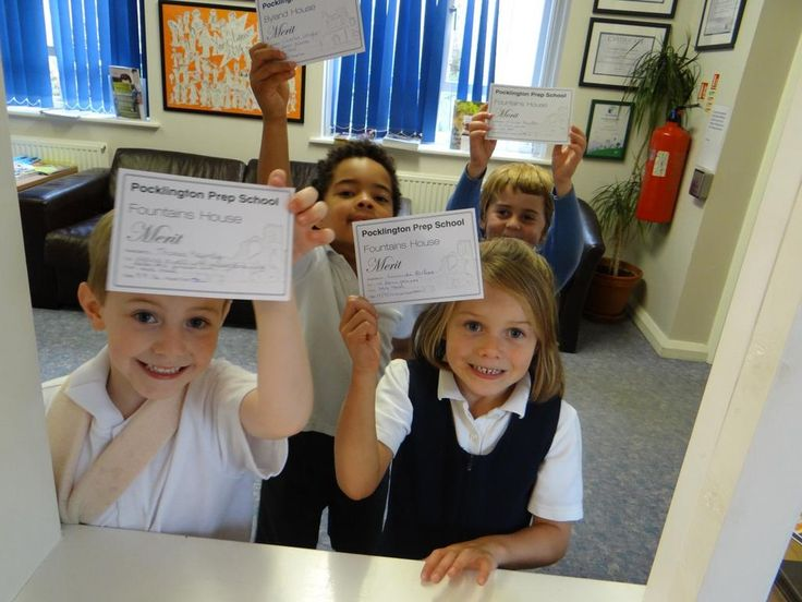 Lots of very proud Pre-Preppers earning precious Merit certificates for hard work.