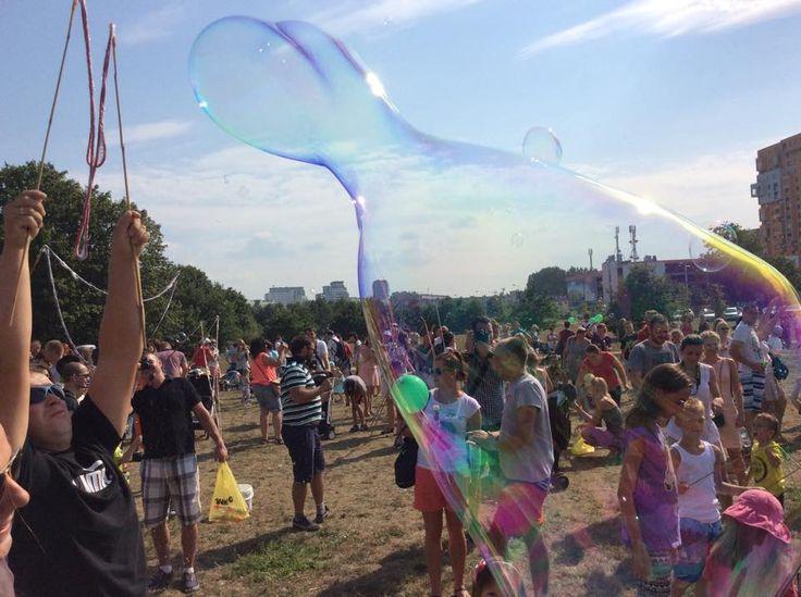 #Festival of #colours in #Gdansk / #colorful #party #ilovegdn #people / photo: MiastonaPlus