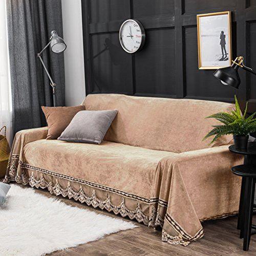 Plush Sofa Slipcover Sofa Cushion Covers Furniture Protector For 1