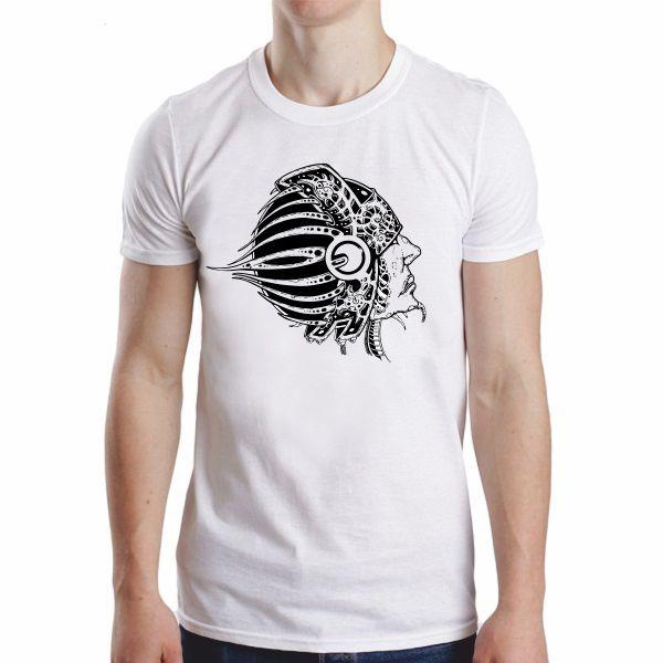 T-shirt Men/Homem Alien Sky - Tribalunion-tshirts