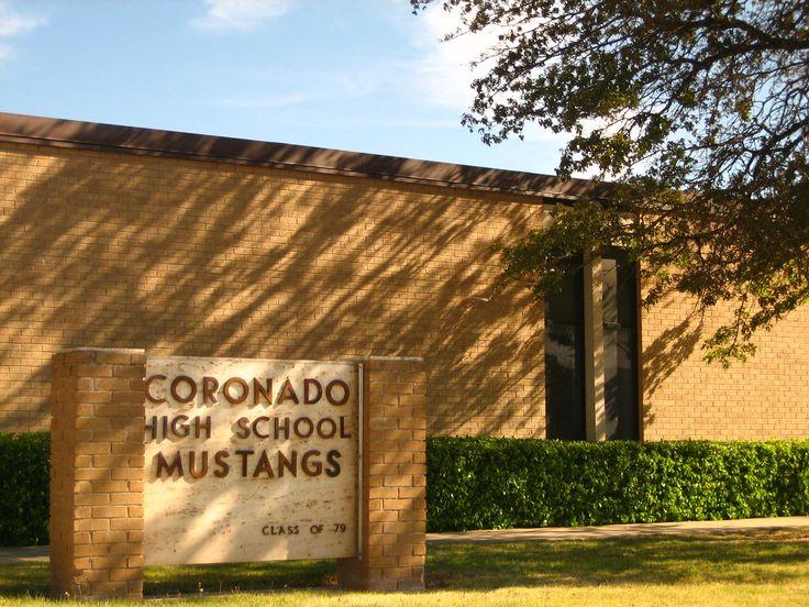 My high school where I met the Love of my life.. Coronado High Lubbock TX