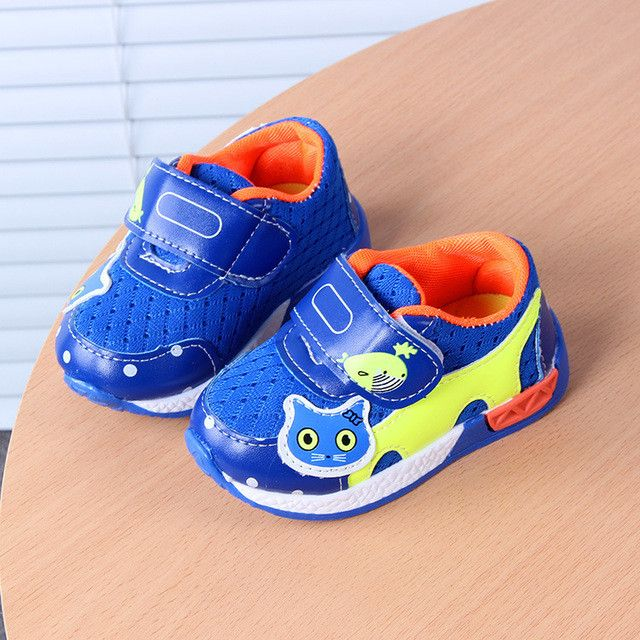 Breathable Mesh Toddler Shoes for Girls Boys *