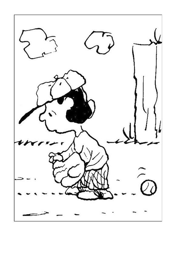 25 ide terbaik Snoopy coloring pages di Pinterest Peanuts gang