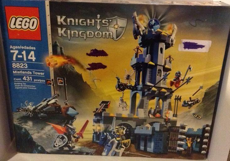 Rare Lego Knights Kingdom Mistlands Tower Complete 8823 7-14 Boys & Girls #LEGO
