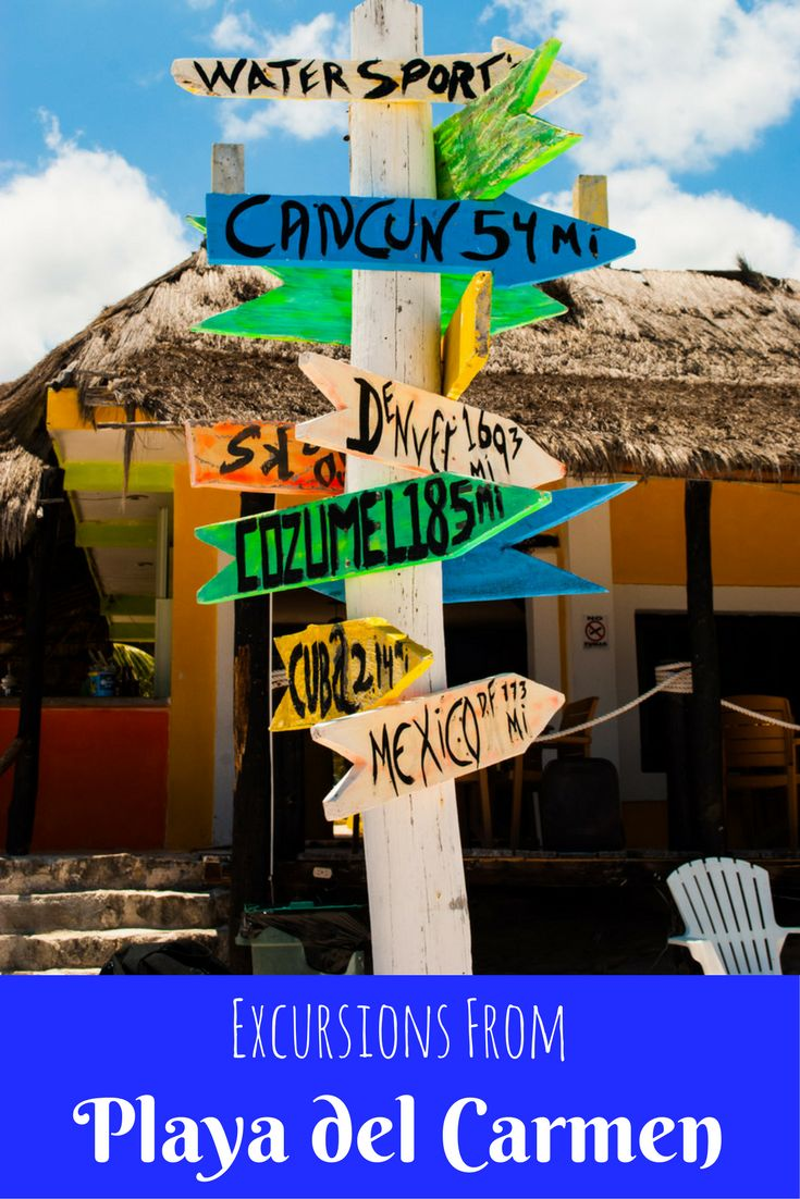 Playa del Carmen, Mexico has beautiful beaches, great food, pumping nightlife and fun shopping but sometimes you just want a respite from all the excitement. For this reason, we have created a list of some of our favorite Excursions From Playa del Carmen. via @livedreamdiscov