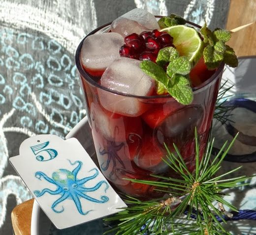 A Quiet Life Advent Day 5 Christmas Tree Cocktail