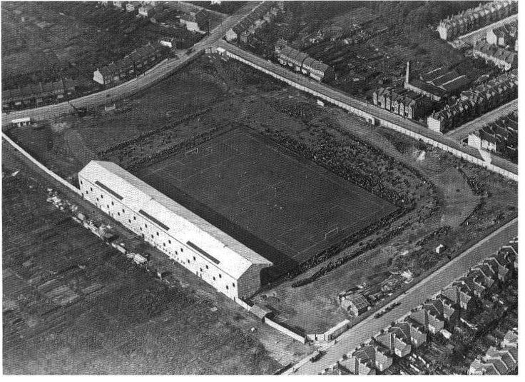 Selhurst Park, the home of Crystal Palace FC