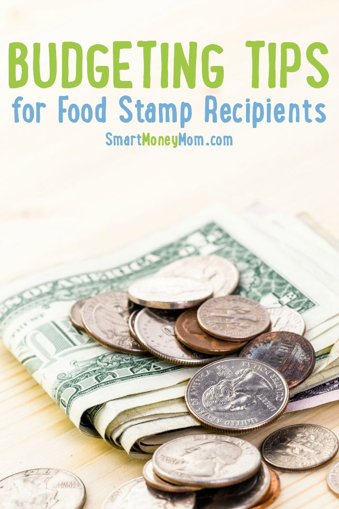 Budgeting Food Stamps