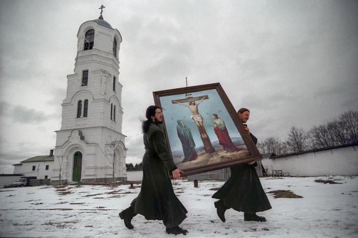 Alexander-Svirsky Monastery, Leningrad Oblast, 2002