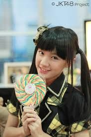 Cindy Gulla when she still being a member of JKT48